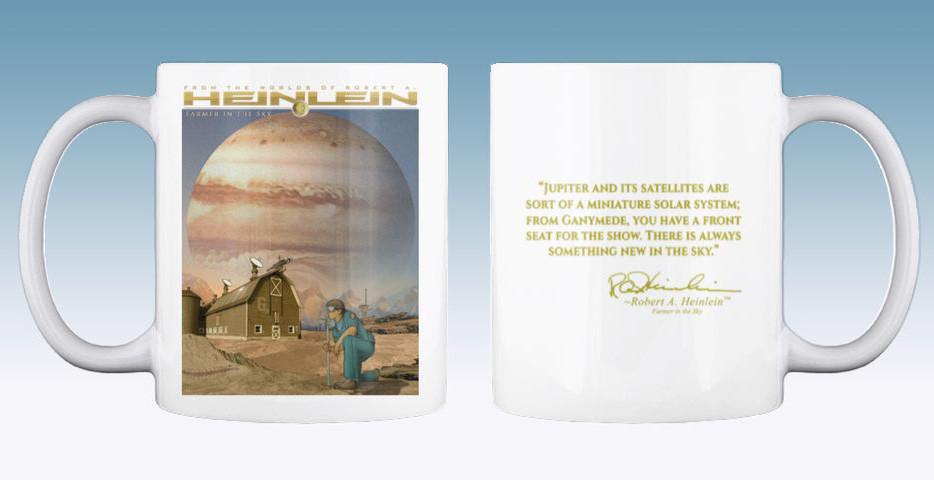 Farmer in the Sky Mug