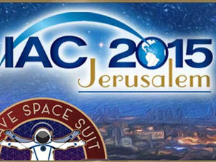 Have Space Suit will Travel at AIC 2015 Conference in Israel