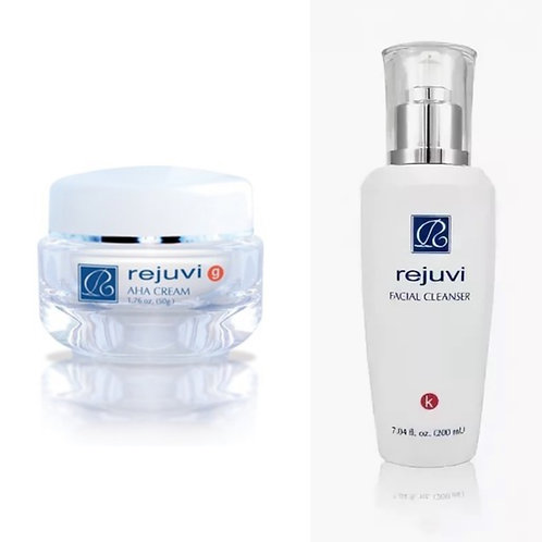 g AHA Cream+k Facial Cleanser/g AHA Voide+k Puhdistusgeeli