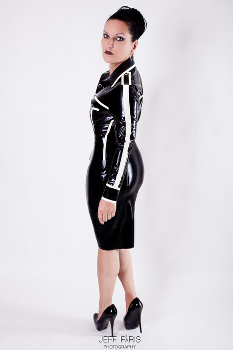 Domina Silvia Latex Dress