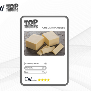 CW Top Trumps - Cheddar Cheese