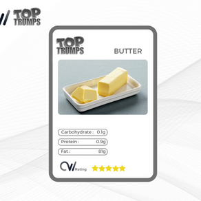 CW Top Trumps - Butter