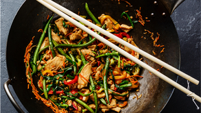 Muscle Growth Meal Of The Month - Chicken Chow Mein