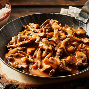 Muscle Growth Meal of the Month - Beef Stroganov