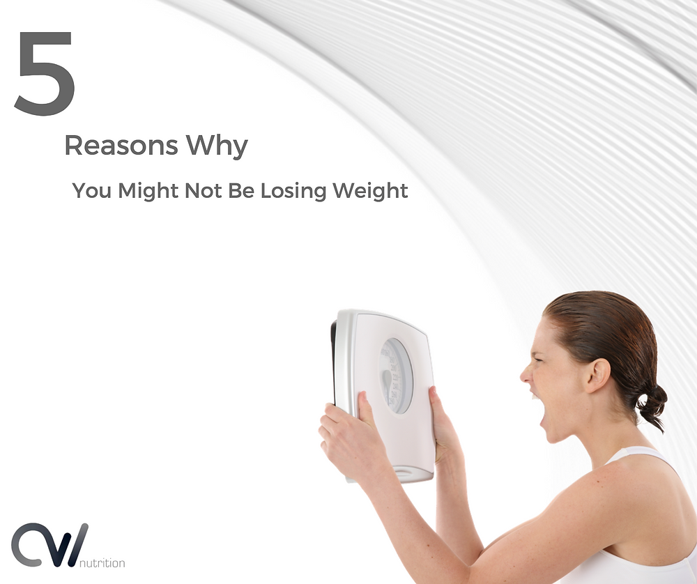 Reasons why you cant lose weight
