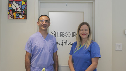 Dr. Oscar and our Practice Manager, Nicole