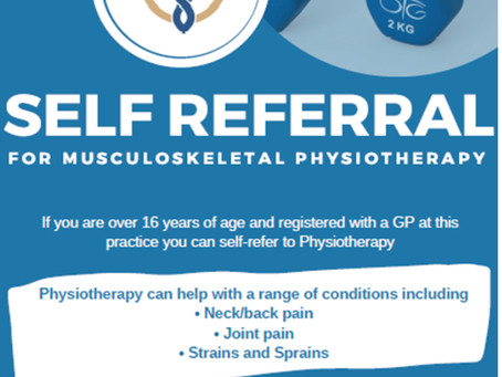 Direct access physio therapy without needing to see a GP first