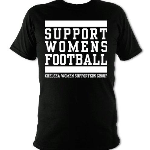 Support Womens Football tee