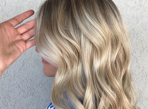 This dimensional blonde is a dream! 🙌🙌