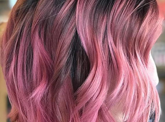 Mauve pink •_•_•_#okcsalons #okcstylist