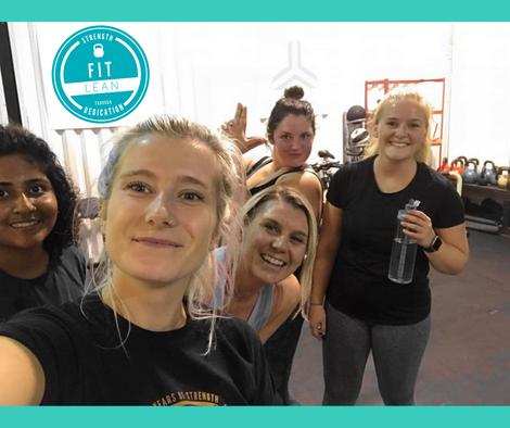 women's small group training