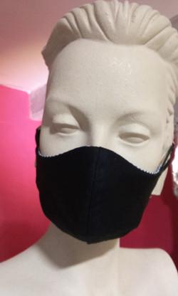 Masque grand public demi-coque homme