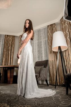 Robe de mariée fluide (2)