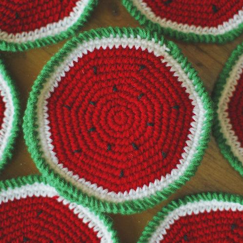 Watermelon Coasters