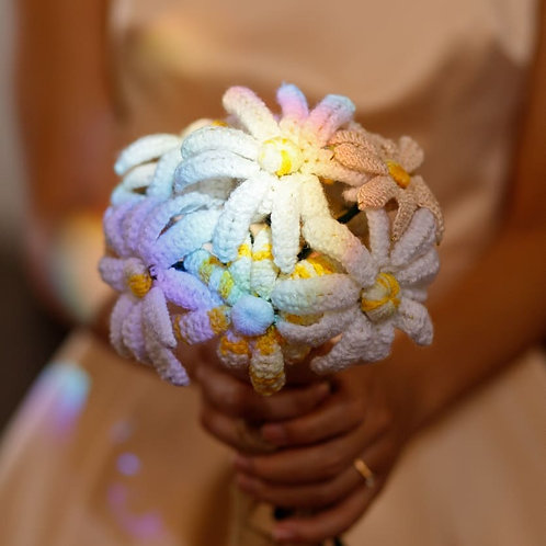 Crochet Flowers Bouquet