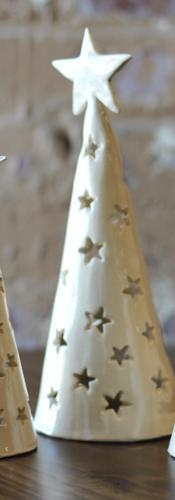 Ceramic Tree Luminaries