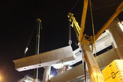 Beam Launching at Tuas West MRT