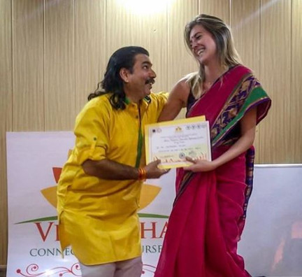 Graduation! 300hr Yoga Therapy in India