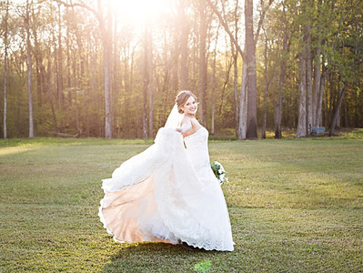 Destiny \\ Bridal Portraits \\ Fox Hollow Farm