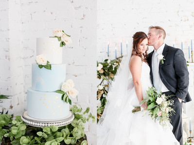 A Dusty Blue Wedding | Styled Shoot