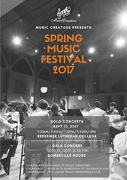 2017 Spring Music Festival