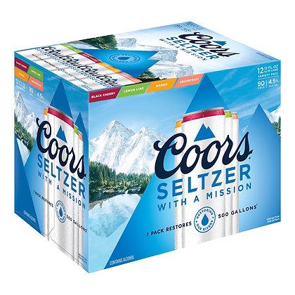Coor's Seltzer