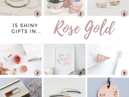 The Ultimate Rose Gold Gift Guide