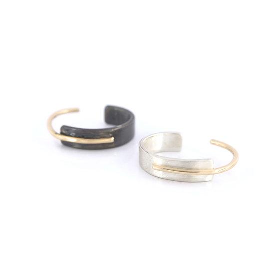 Thin Cuff Earring - No Piercing