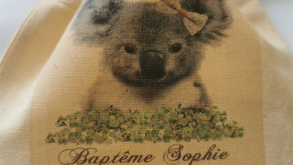 Pochon dragées Koala
