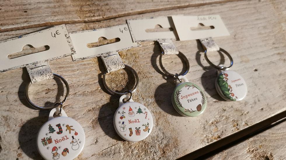 Porte clé Noël