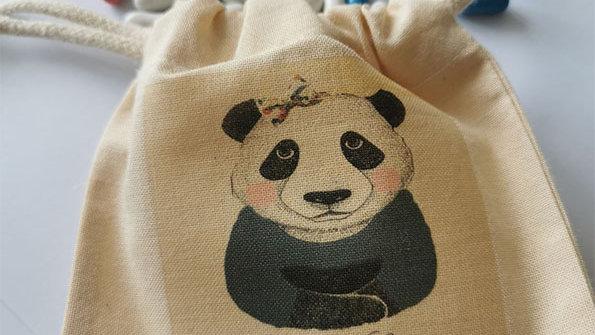 Pochon dragées Panda