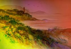 dorset shoreline -twilight