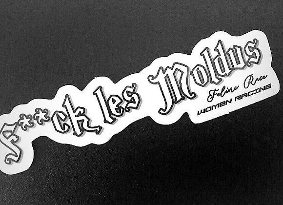 """Kit Déco """"F**CK LES MODLUS"""" Casques & Moto"""
