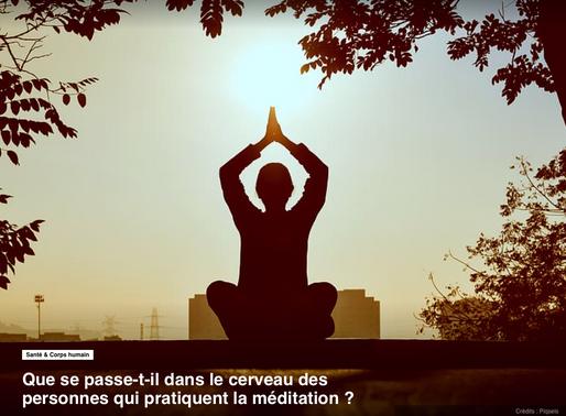 Que se passe-t-il dans le cerveau des personnes qui pratiquent la méditation ou le yoga ?