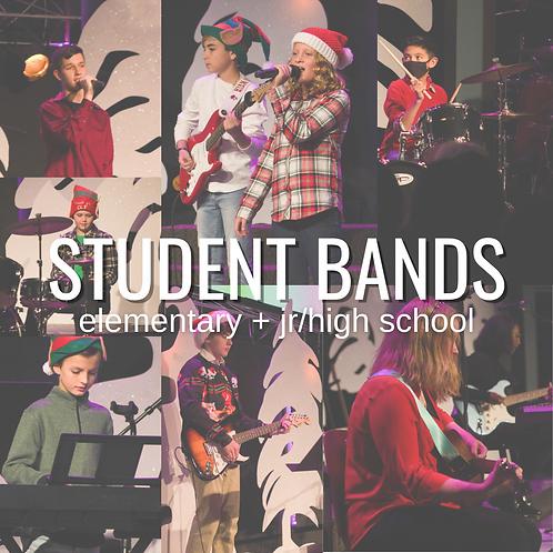 Elementary Band {4:30 on Fridays}
