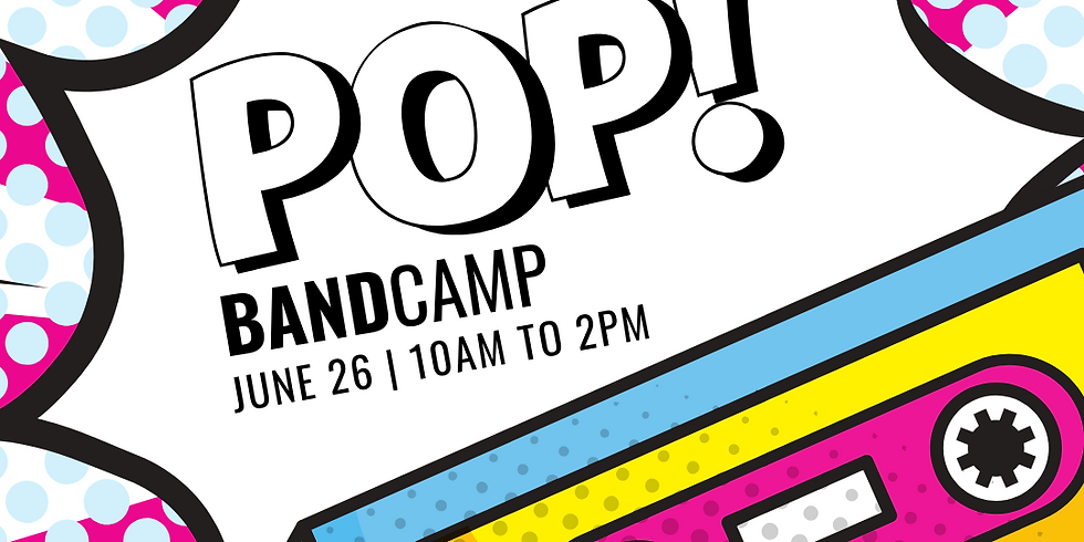 Pop Band Camp {Ages 8+}