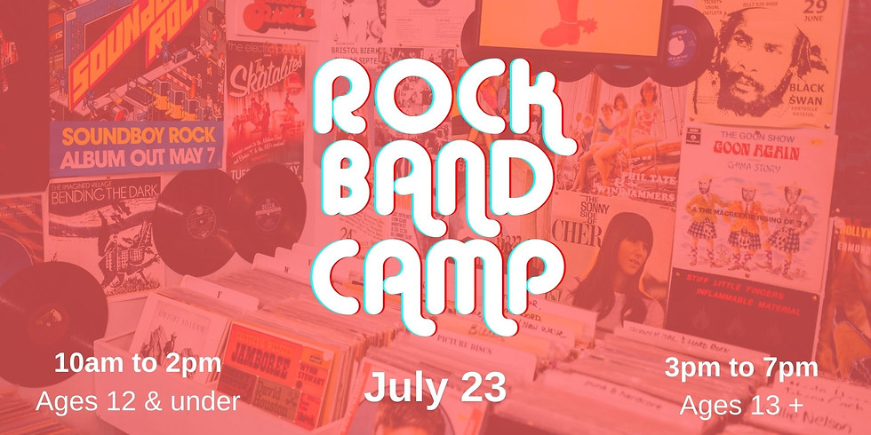 Rock Band Camp {Ages 12 and under}