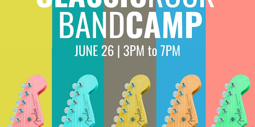 Classic Rock Band Camp