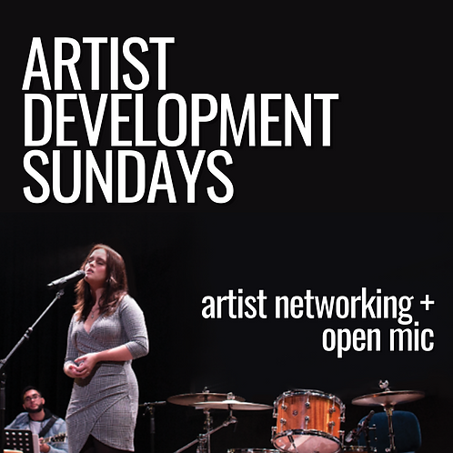 May 9 {networking + open mic}