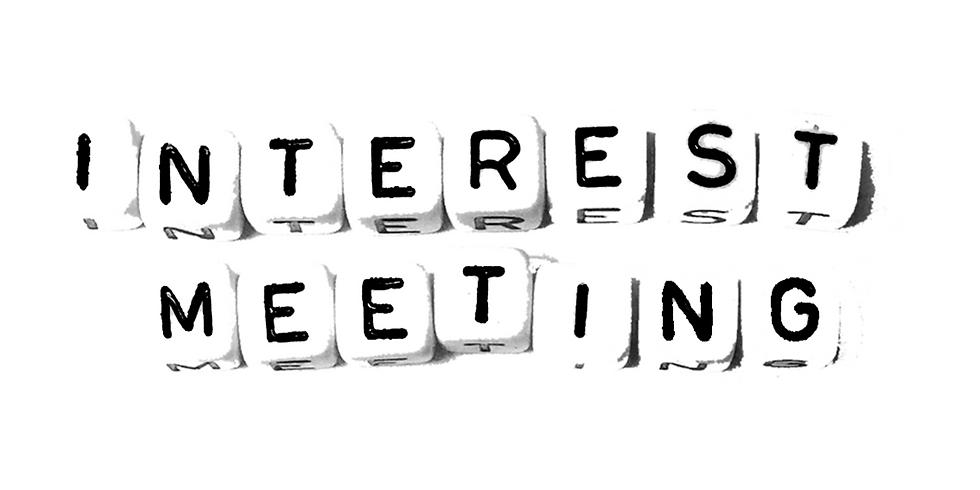 Artist Developtment Interest Meeting
