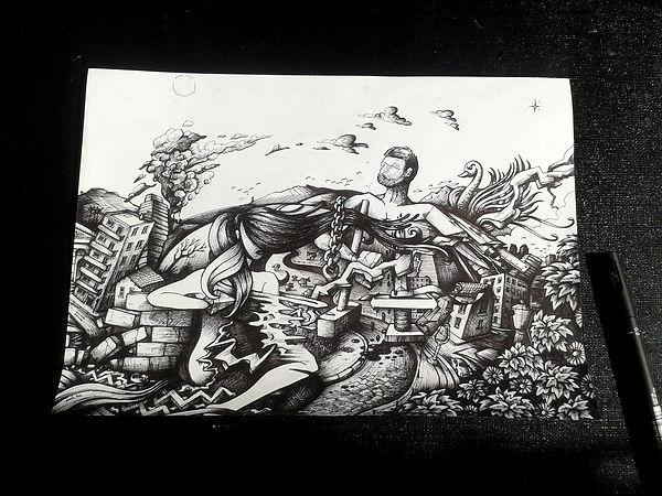 dorian roulet dessin illustration