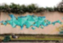 Dodo Graffiti Lyon Fresque murale Bourges