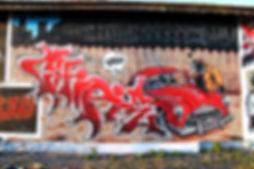 Chipie Graffiti GEK Team Blacksad theme fresque Andrézieux