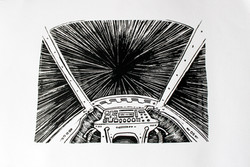 Sérigraphie hyperspace