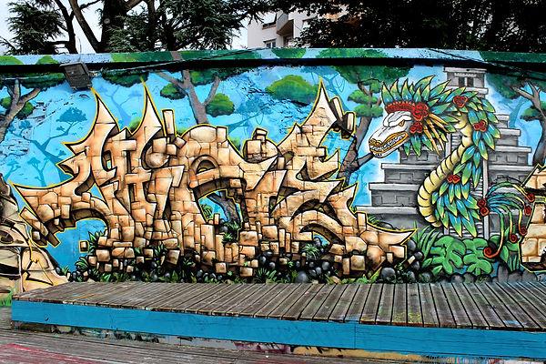 Chipie Maya Gek Team Graffiti