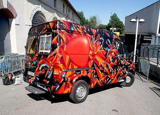 Graffiti Mediatone Monde Collectif Déco Lyon