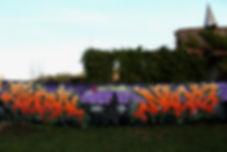 Ceci est la phot de la fresque de graffiti street-art réalisée au Musée d'Art Urbain et du street-art de Toulouse-le-château au Mausa, un graffiti de nacle et chipie des crew gek et lcg, graffiti sur célophane, wildstyle thème halloween, graffiti halloween au mausa'lloween 2017