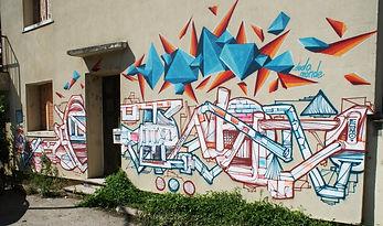 Dodo graffiti Esmo fresque