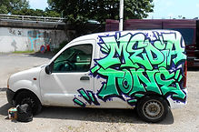 Mediatone déco véhicule Graffiti pro Lyon
