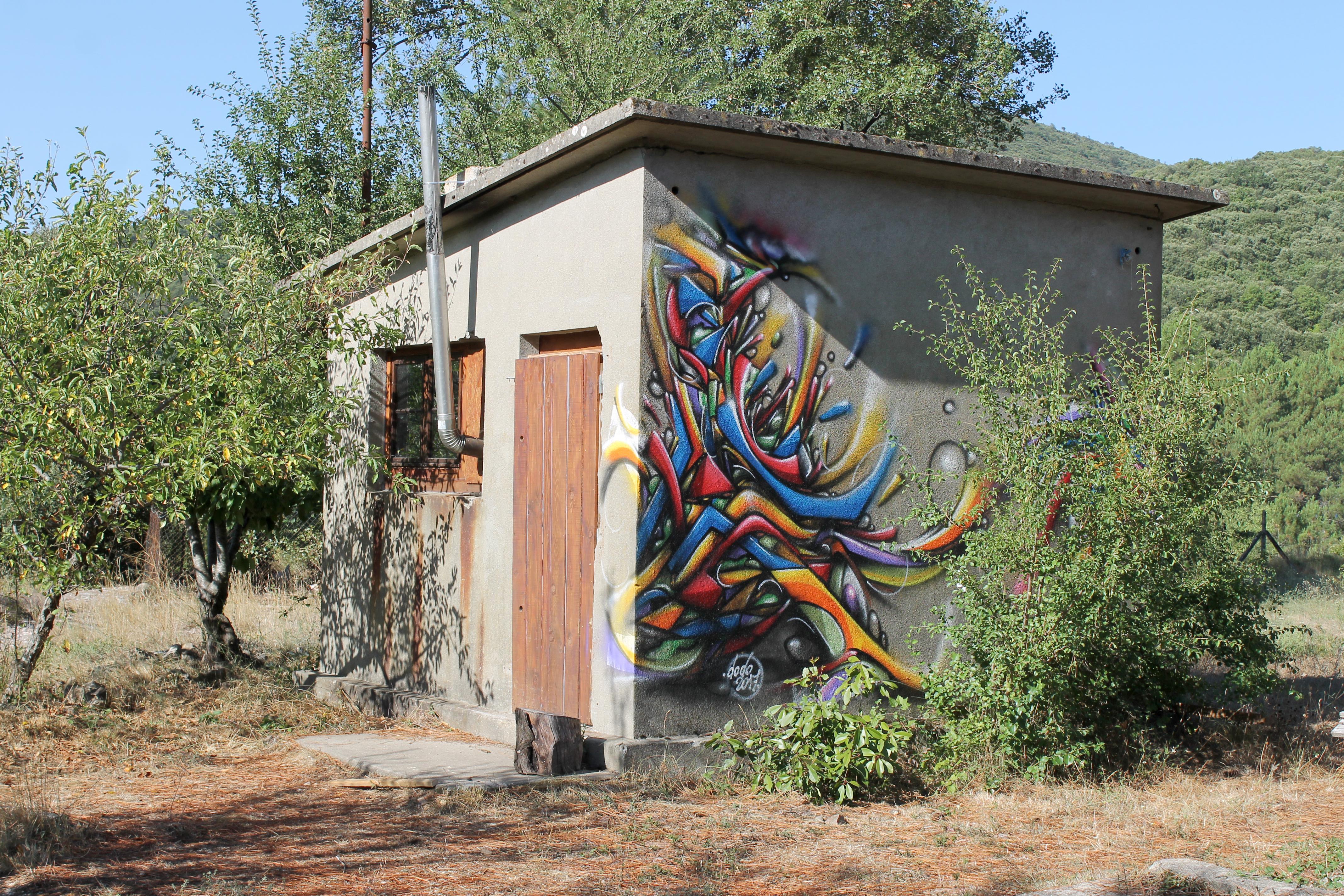 Graffiti Cévennes été 2017